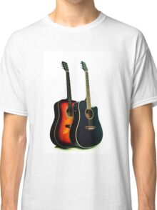 Acoustic Guitar Close Up Classic T-Shirt