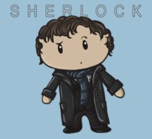 Sherlock | Benedict Cumberbatch [with text] Baby Tee
