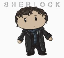 Sherlock | Benedict Cumberbatch [with text] Kids Tee