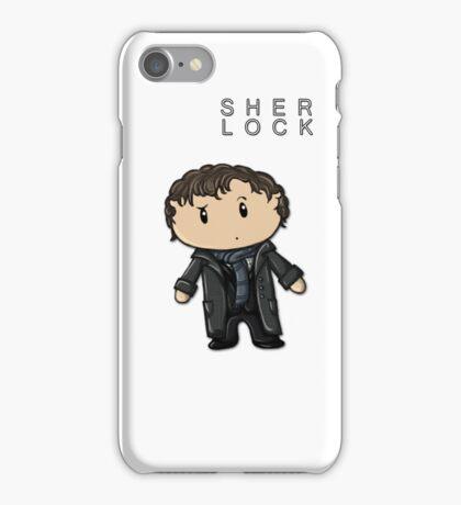 Sherlock | Benedict Cumberbatch [with text] iPhone Case/Skin