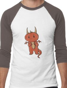 Smaug | Dragon [without text] Men's Baseball ¾ T-Shirt