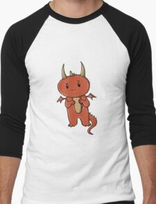Smaug | Dragon [without text] Men's Baseball ¾ T-Shirt