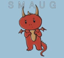 Smaug | Dragon [with text] Kids Clothes