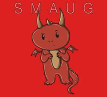 Smaug | Dragon [with text] One Piece - Long Sleeve