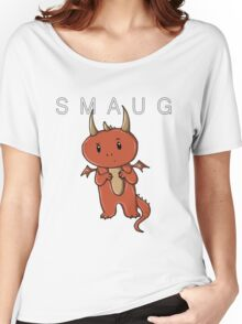 Smaug | Dragon [with text] Women's Relaxed Fit T-Shirt