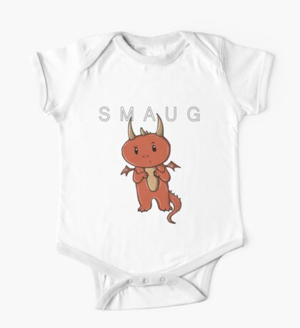 Smaug | Dragon [with text] One Piece - Short Sleeve