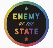 ENEMY of the STATE (Rainbow Inverted) by anarchei