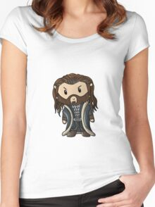 Thorin | Richard Armitage [without text] Women's Fitted Scoop T-Shirt