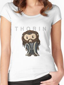 Thorin | Richard Armitage [with text] Women's Fitted Scoop T-Shirt