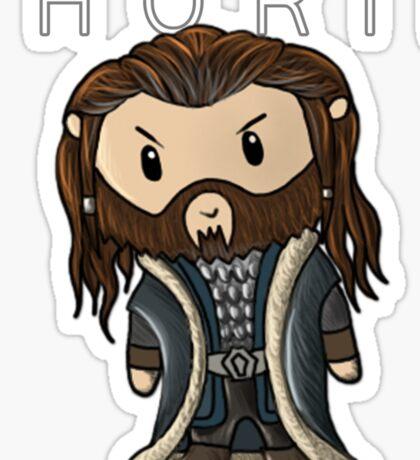 Thorin | Richard Armitage [with text] Sticker