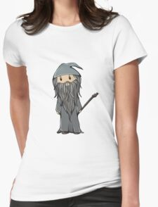 Gandalf | Ian McKellen [without text] Womens Fitted T-Shirt