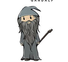 Gandalf | Ian McKellen [iPhone] by sebabybaby