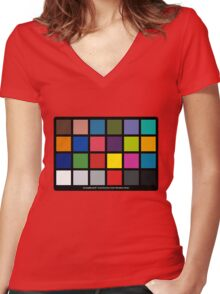 Greycard Women's Fitted V-Neck T-Shirt
