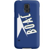 BOAC Airline T-Shirt Samsung Galaxy Case/Skin