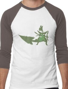 Sceptile Men's Baseball ¾ T-Shirt