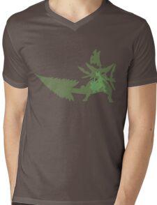 Sceptile Mens V-Neck T-Shirt