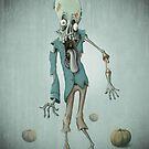 Halloween zombie by jordygraph