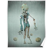 Halloween zombie Poster