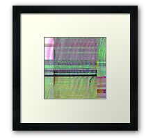 Looked closely enough, the patterns will confound. Framed Print