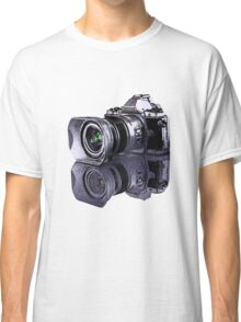 Olympus OM-D standing all on its own  Classic T-Shirt