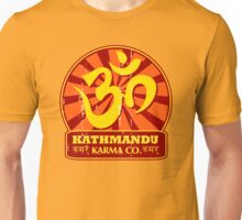 Kathmandu Karma Buddhist and New Age T-Shirt Unisex T-Shirt