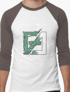 Dont Decay. Men's Baseball ¾ T-Shirt