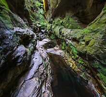 Warrumbah Gorge by jasondaley