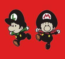 Super Mario Bros - Mario & Luigi One Piece - Short Sleeve