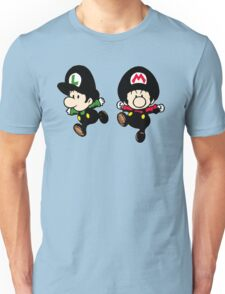 Super Mario Bros - Mario & Luigi Unisex T-Shirt
