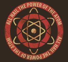 1950's Retro Atom Power T-Shirt by TropicalToad