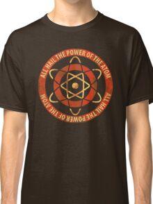 1950's Retro Atom Power T-Shirt Classic T-Shirt