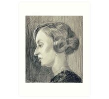 Lady Edith Crawley of Downton Abbey Art Print