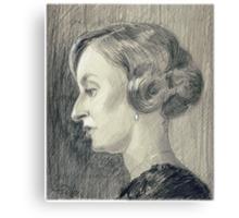 Lady Edith Crawley of Downton Abbey Canvas Print