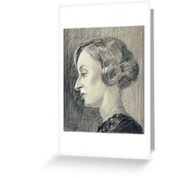 Lady Edith Crawley of Downton Abbey Greeting Card