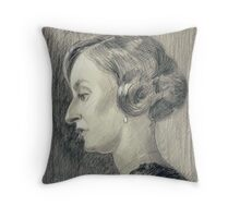 Lady Edith Crawley of Downton Abbey Throw Pillow