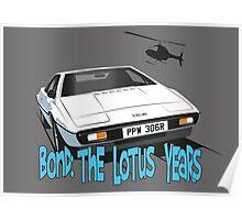 Lotus Esprit Series 1.  The Bond model Poster