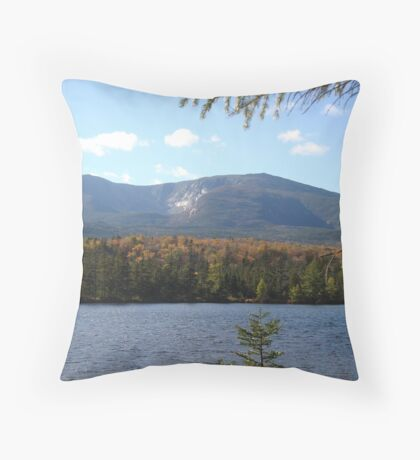 Mount Katahdin Throw Pillow