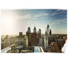Philadelphia Skyline, October 2013 Poster