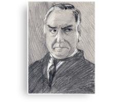 Charles Carson of Downton Abbey Canvas Print