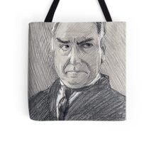 Charles Carson of Downton Abbey Tote Bag
