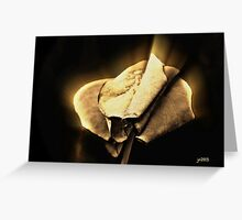 TOBACCO GOLD Greeting Card