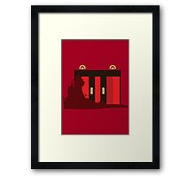 The Elevator - The Shining Framed Print