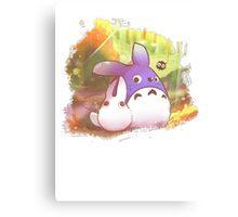 Totoro II Canvas Print