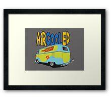 VW Barn Door Drag Bus! Framed Print