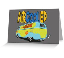 VW Barn Door Drag Bus! Greeting Card