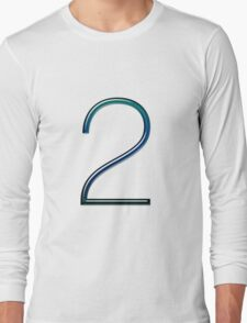 Number two Long Sleeve T-Shirt