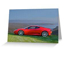 2004 Ferrari Challenge Stradale Greeting Card