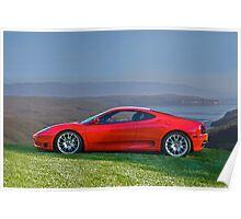 2004 Ferrari Challenge Stradale Poster