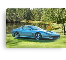 2000 Ferrari 550 Maranello Canvas Print