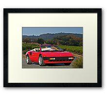 1985 Ferrari Mondial Cabriolet I Framed Print